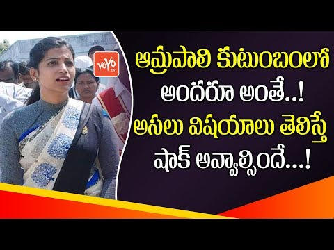 Facts about Warangal Collector Amrapali Family