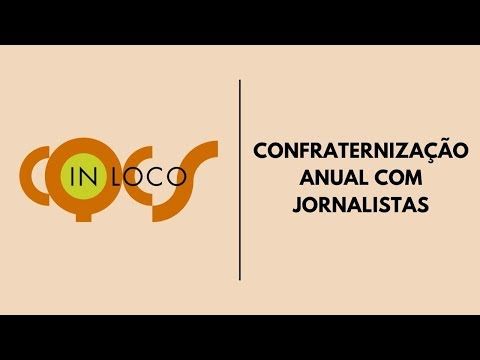 Imagem post: Confraternização anual com jornalistas
