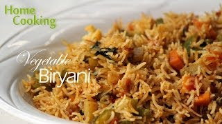 Vegetable Biryani Recipe | Ventuno Home Cooking