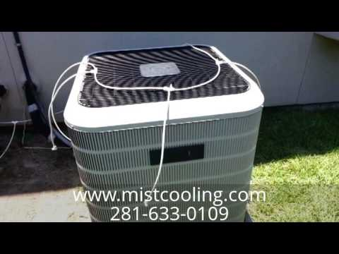 Ac Precooling Mister System Kit Demo Youtube