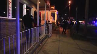 Raw video of Mid-City multiple shooting scene