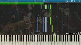 [Synthesia] Kami Memo - Tender Color (VSTi)