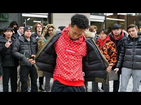 How Much is Your Outfit? ft. $10,000 Supreme Hoodie CANADA