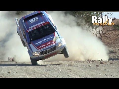 Alvarez so close to crash! - Rallye du Maroc 2014