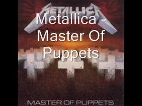 Metallica - Master Of Puppets (with lyrics) - YouTube