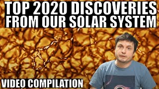What Scientists Discovered In The Solar System In 2020  - Video Compilation