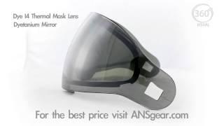 Линза Dye Lens I4 Thermal Dyetanium smk/silver