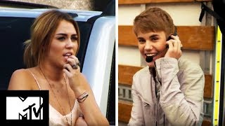 Justin Bieber Punks Miley Cyrus | MTV