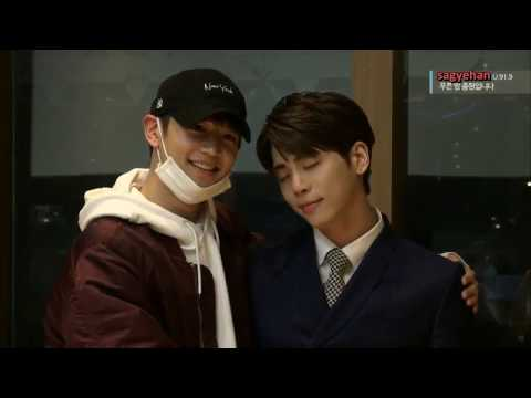 [eng sub] 170402 Jonghyun's Blue Night - Minho's surprise visit on the last broadcast