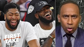 Stephen A. roasts Max Kellerman for saying Anthony Davis is LeBron's best teammate | First Take