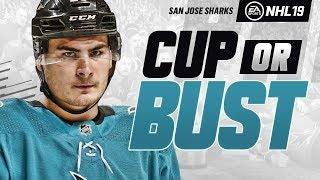 SAN JOSE SHARKS REBUILD! NHL 19 CUP OR BUST FRANCHISE