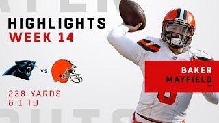 Baker Mayfield Highlights vs. Panthers