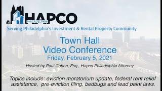 Hapco Philadelphia Town Hall (February 5, 2021)