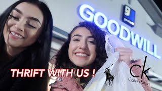COME THRIFTING WITH US 🥰 + try on