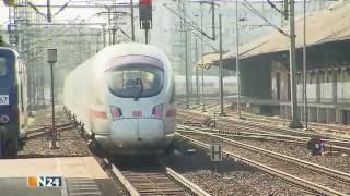 N24: Der ICE Highspeed auf Schienen