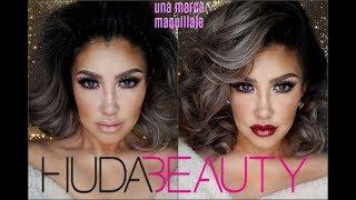 una marca HUDA BEAUTY Maquillaje / Makeup tutorial One Brand | auroramakeup
