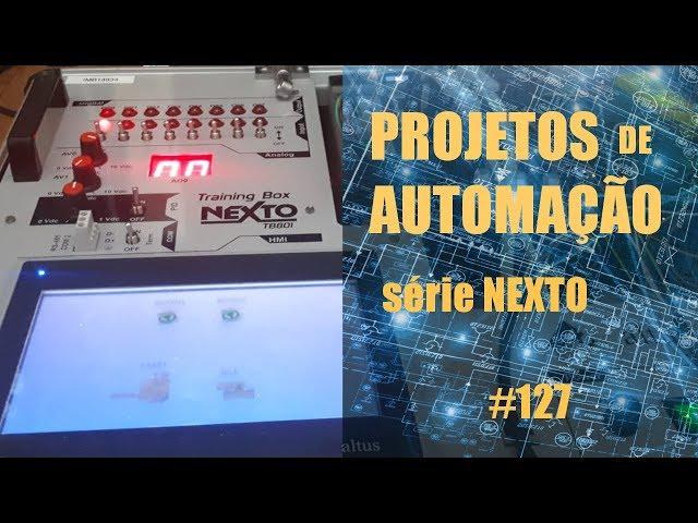 FORNO DE MICROONDAS EMULADO NO CLP NEXTO (p6) | Projetos de Automação #127