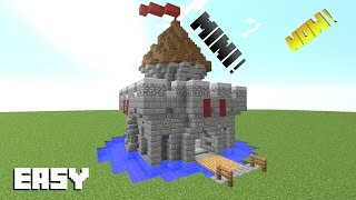 Minecraft How To Build A Mini Castle Tutorial PC / PS3 / PS4 /XBOX /MCPE