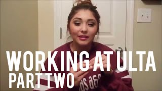 My Experience Working at Ulta Pt. 2 — Dress Code, Appearance, + What to Expect Daily