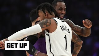 D'Angelo Russell is the type of player that LeBron, Lakers need – Brian Windhorst | Get Up