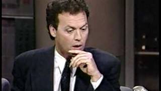 Michael Keaton Promoting Batman on David Letterman 6/22/89 (1 of 2)