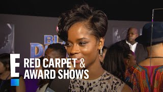"""Letitia Wright Reveals """"Black Panther"""" Set Had Rap Battles 