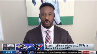"Willie McGinest ""predicts"" Week 2: Baltimore Ravens vs Houston Texans - Lamar can take 5 TD in game"