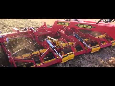 Carrier and Carrier X Tillage in Action