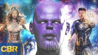 Marvel: The Family Tree Of Thanos Revealed