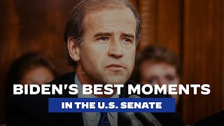 Joe Biden's Best Moments in the U.S. Senate | Joe Biden For President 2020