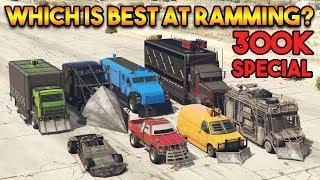 GTA 5 ONLINE : WHICH IS BEST AT RAMMING? (RAMP BUGGY, PHANTOM WEDGE, ETC.) [300K Special]