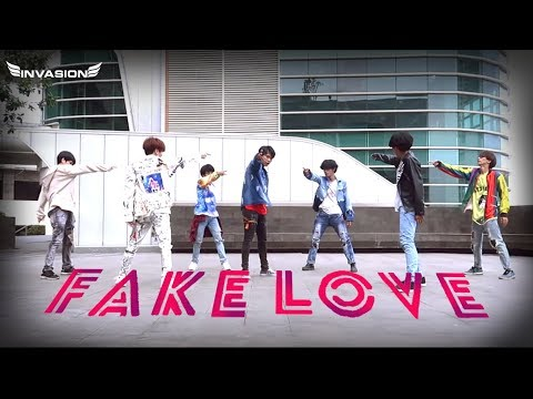BTS (방탄소년단) 'FAKE LOVE' DANCE COVER By INVASION BOYS