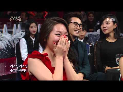[HIT] KBS 연기대상-축하공연 - 배우들이 꾸미는 렛잇비.20141231