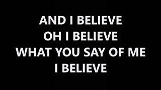 You say by Lauren Daigle (Lyrics)
