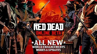 Red Dead Online Beta releases mode and world enhancements update