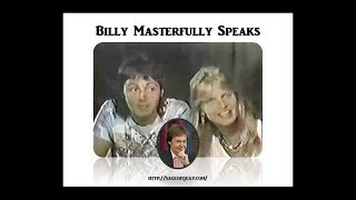 Billy Masterfully Speaks - 1976 Interview with Geraldo Rivera