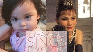 2 Year-old sings Moon River