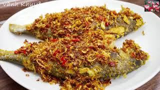 Cá Chiên Sả Ớt Nghệ và Canh Bí đỏ nấu Sườn - Cách làm các món ăn ngon thường ngày by Vanh Khuyen