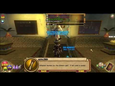 Wizard101 Level 48 Balance Spell Quest Power Nova Videomovilescom