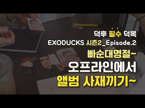 [엑소덕스·시즌2] EP2. 빠순대명절~ 오프라인에서 앨범 사재끼기 EXODUCKS·season2 EP2. Buying EXO's album at Gwanghwamun