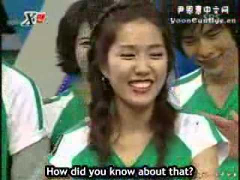 Xman Dangyunhaji   Lee Jin vs Yoon Eun Hye
