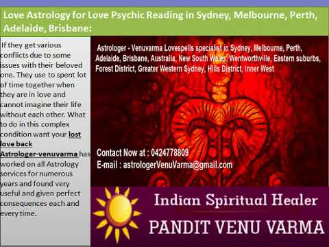 Astrologer-Venuvarma – Best Spiritual Healing Services in Sydney, Melbourne, Perth, Adelaide, and Brisbane, Australia: