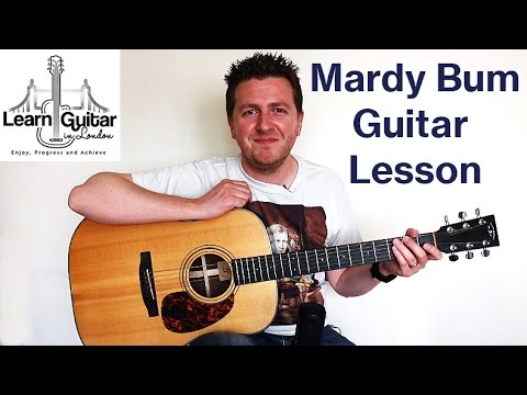 Mardy Bum - Guitar Lesson - Arctic Monkeys - Chords + Rhythm