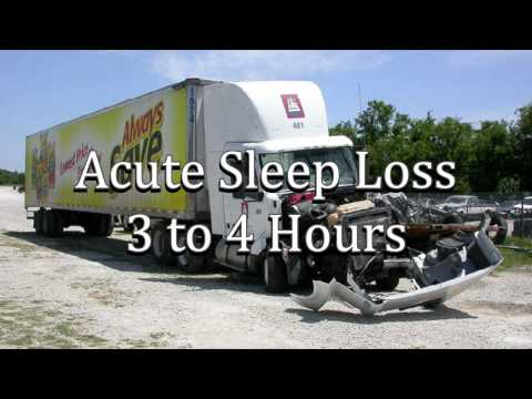 Truck Accident Caused by Fatigue