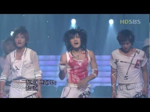 The Way U Are - DBSK inkigayo 20040711