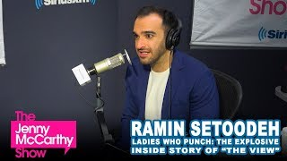 """Ramin Setoodah on behind the scenes conflicts on """"The View"""""""