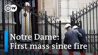 Two months after Notre Dame fire: Where are the big donors? | DW News