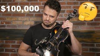 $100k Titanium Violin vs. $1500 Wooden Violin