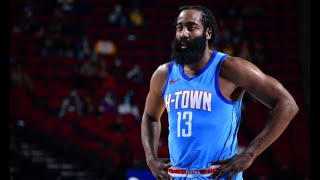 James Harden's Final Game as a Houston Rocket