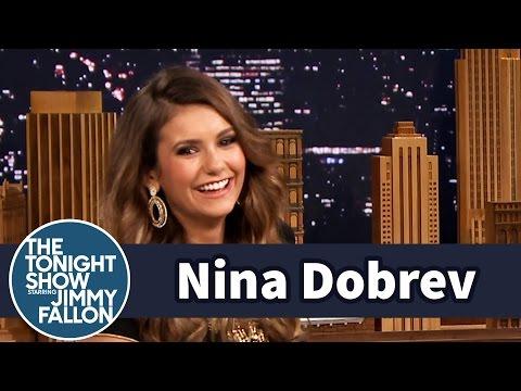 Nina Dobrev Was Bitten by a Monkey